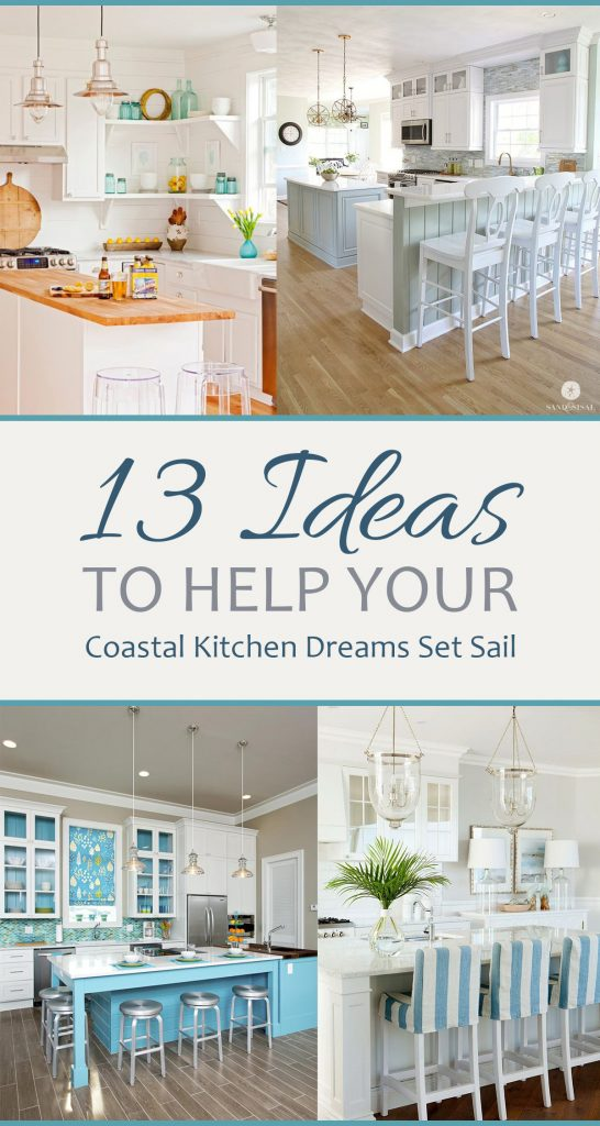 Coastal Kitchen, Kitchen Decor, DIY Home, Home Improvement, Coastal Home Decor, Coastal Home, DIY Home Decor, DIY Kitchen, Kitchen Hacks.
