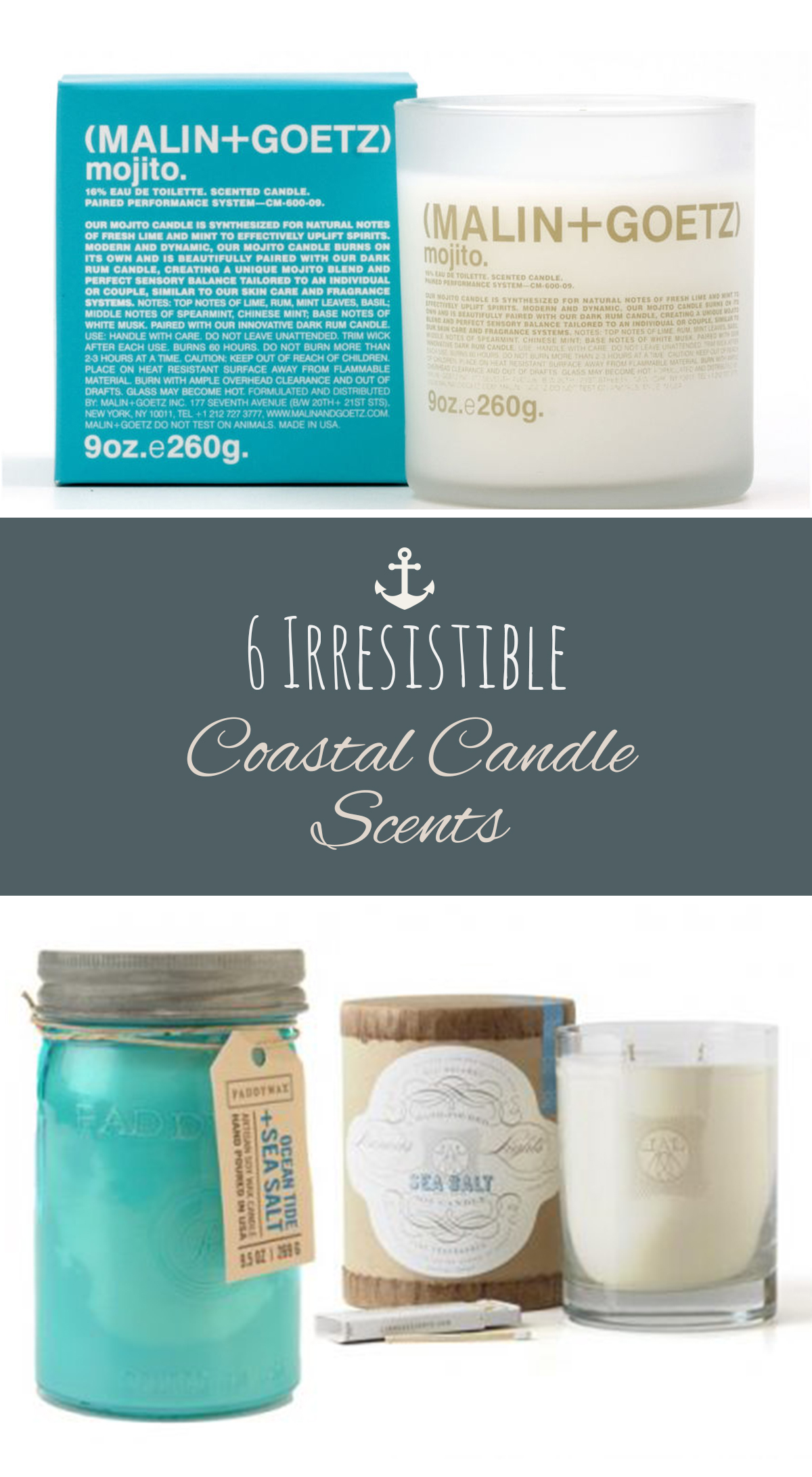 Coastal Candles, Coastal Home Decor, Home Decor, DIY Coastal Decor, Home Decor, Coastal Home Decor, DIY Home, DIY Home Decor, Candles, DIY Candles, Popular Pin
