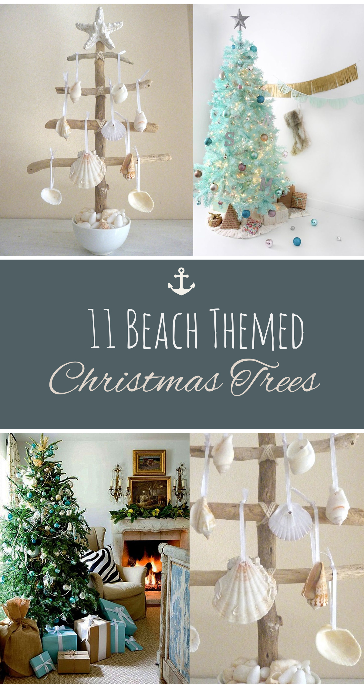 11 beach themed christmas trees - Beach Themed Christmas Decorations