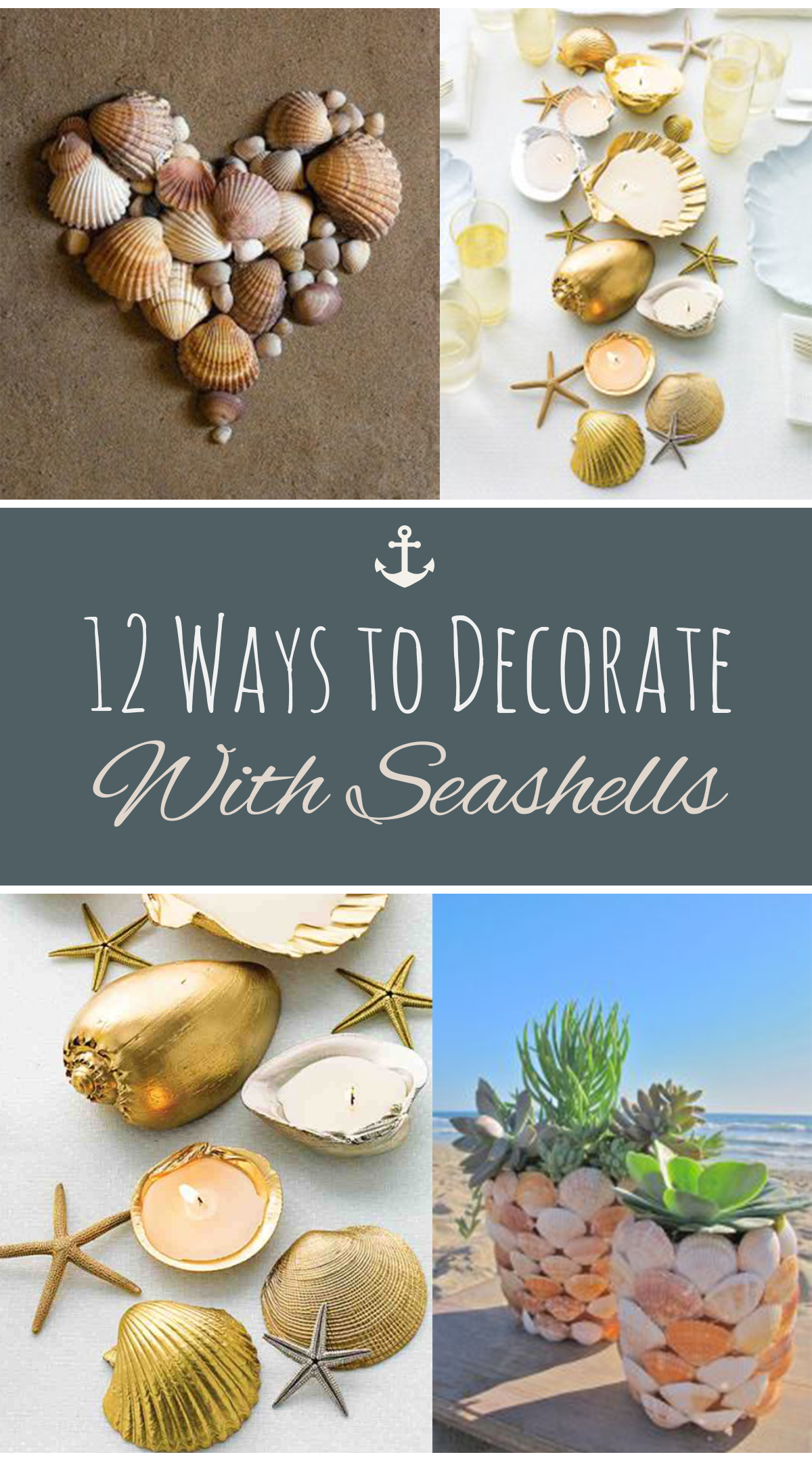 How to Decorate With Seashells, Seashell Decor, Decorating With Seashells, Seashell Decor Ideas, Popular Pin, DIY Home Decor, How to Decorate With Seashells. #DIYHome #DIYHomeDecor #CoastalHome #HomeDesign #Crafts #FunCrafts #EasyCraftProjects