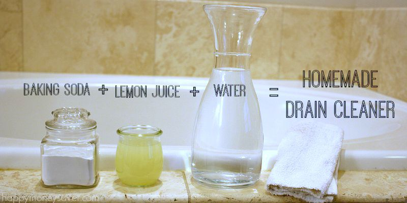 How to Get Rid of Clogged Sinks, Clogged Sinks, How to Naturally Unclog A Sink, How to Unclog Sinks, Natural Ways to Unclog A Sink, Natural Cleaning, Cleaning Tips and Tricks, Home Cleaning, Popular Pin