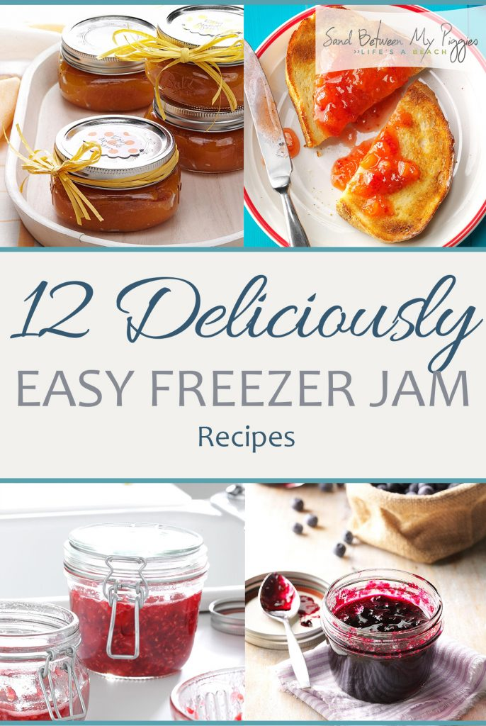 12 Deliciously Easy Freezer Jam Recipes| Freezer Jam, Freezer Jam Recipes, Delicious Recipes, Yummy Recipes, Yummy Jam Recipes, Homemade Jam Recipes, How to Make Homemade Jam, Food, Good Eats, Popular Pin