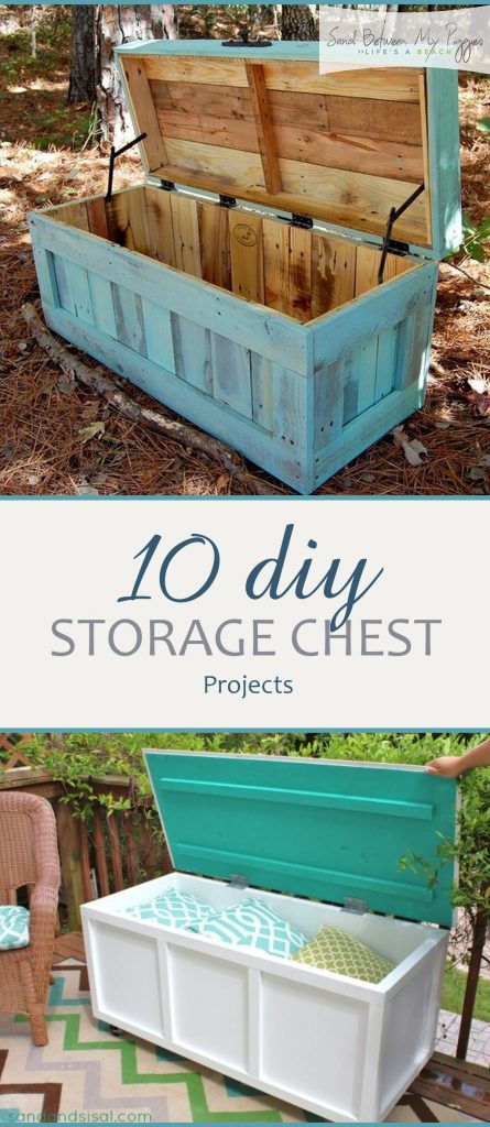 DIY Storage Chests, Handmade Storage Chests, DIY Cedar Chests, DIY Storage Chest Tutorials, DIY Home, DIY Furniture Projects, Furniture Projects for the Home, Popular Pin
