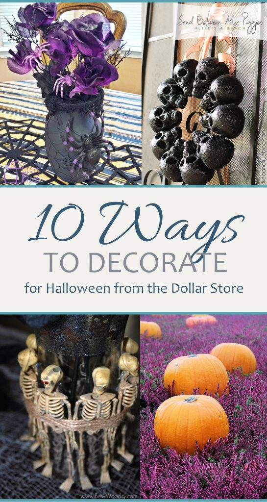 Dollar Store Halloween, DIY Halloween Decor, Halloween Decor, Dollar Store DIY, DIY Dollar Store Projects, Cheap Halloween Decor, Inexpensive Halloween Decor, Popular Pin