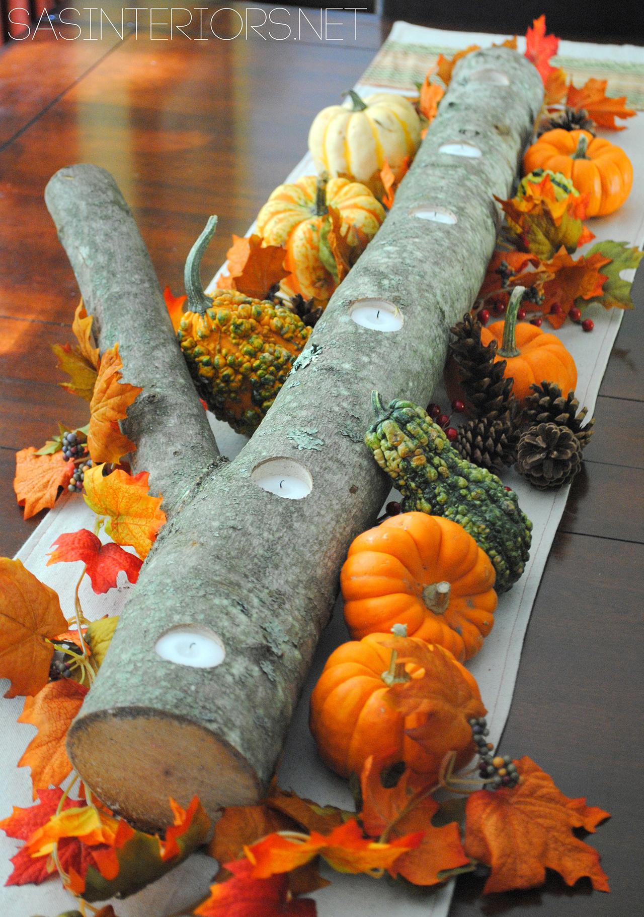 DIY Festive Fall Centerpieces| Fall Centerpiece Projects, Fall Centerpieces, DIY Fall Centerpieces, Fall Home Decor, DIY Home Decor, DIY Fall Decor, Easy to Make Fall Centerpieces, Popular Pin