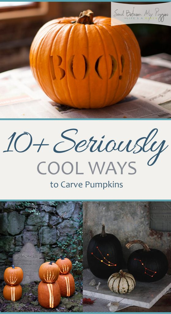 10+ Seriously Cool Ways to Carve Pumpkins| Carving Pumpkins, How to Carve Pumpkins, Pumpkin Carving, Halloween, Halloween Crafts, Fun Halloween Crafts, Holiday Crafts, Holiday Crafting. #Halloween #HalloweenDIY #PumpkinCarving
