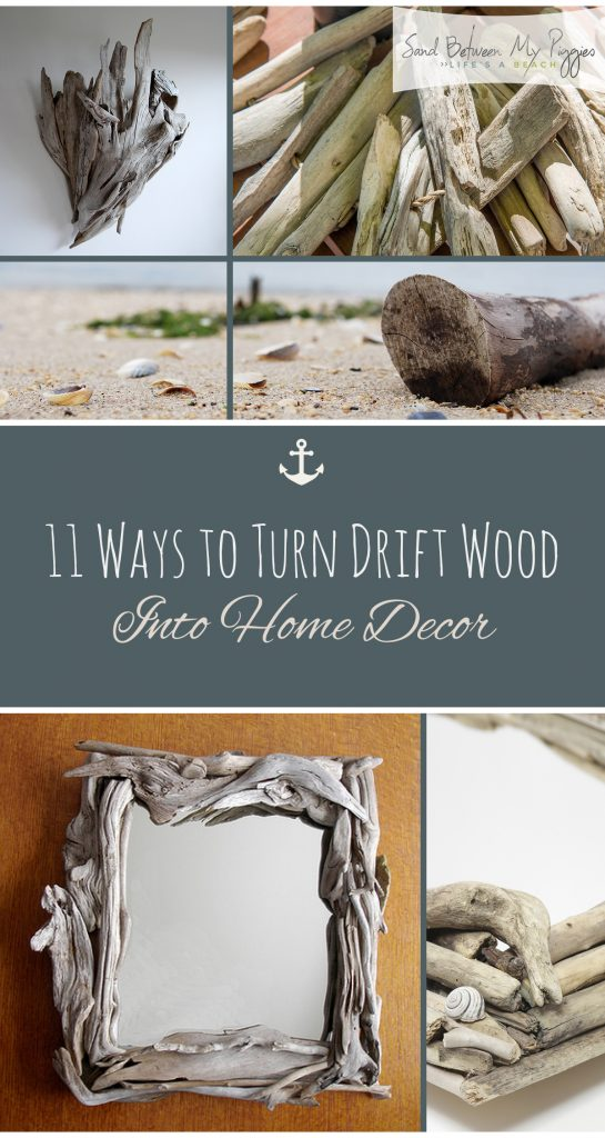 11 Ways to Turn Driftwood Into Home Decor| Driftwood Home Decor, Driftwood DIYs, Inexpensive Home Decor, Easy Home Decor, Driftwood Projects, Driftwood Projects for the Home, Home Decor,  Home Decor Projects, DIY Home Decor Projects, Popular Pin