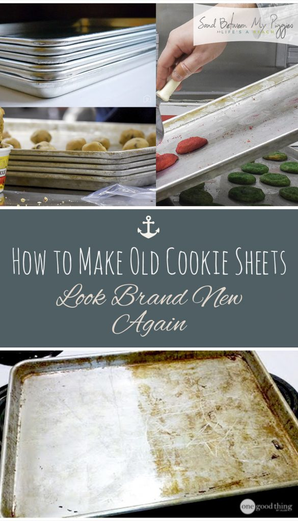 How to Make Cookie Sheets Look New Again| How to Make Cookie Sheets Look New, Cookie Sheet Care, How to Care for Your Cookie Sheets, Caring for Your Cookie Sheets, How to Clean Your Cookie Sheets, Popular Pin
