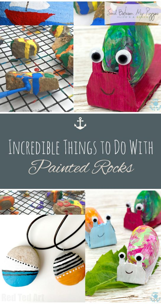 Incredible Things to Do With Painted Rocks| Painted Rock Crafts, How to Paint Rocks, Crafts for Kids, Easy Crafts for Kids, Painting Crafts for Kids, Crafts for Kids, Kid Stuff, Activities for Kids, Popular Pin