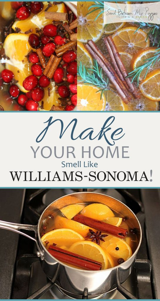 Make Your Home Smell Like Williams Sonoma Sand Between