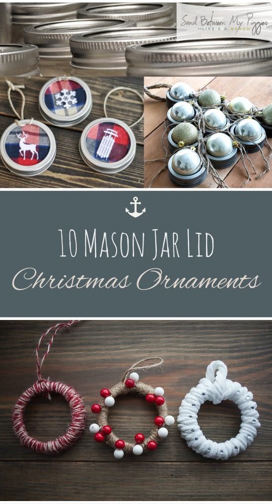 DIY mason jar Christmas ornaments| Christmas Ornaments, DIY Christmas Crafts, Mason Jar Christmas Ornaments, Mason Jar Crafts, Mason Jar Craft Projects, Craft Projects, Craft Projects for the Home #ChristmasCrafts #ChristmasOrnaments #HolidayCrafts
