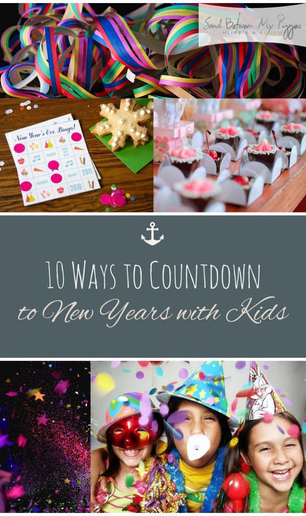 10 Ways to Countdown to New Years with Kids| New Years Eve, Kid Parties, Kid Party Hacks, Party Ideas, Party Planning Tips and Tricks, NYE Party, Popular Pin #PartyPlanning #NewYearsEve