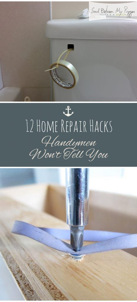 12 Home Repair Hacks Handymen Won't Tell You| Home Repair, Home Repair Hacks, Home, Home Hacks, DIY Home Repair, Home Repair 101, Popular Pin #HomeRepair #HomeRepairHacks