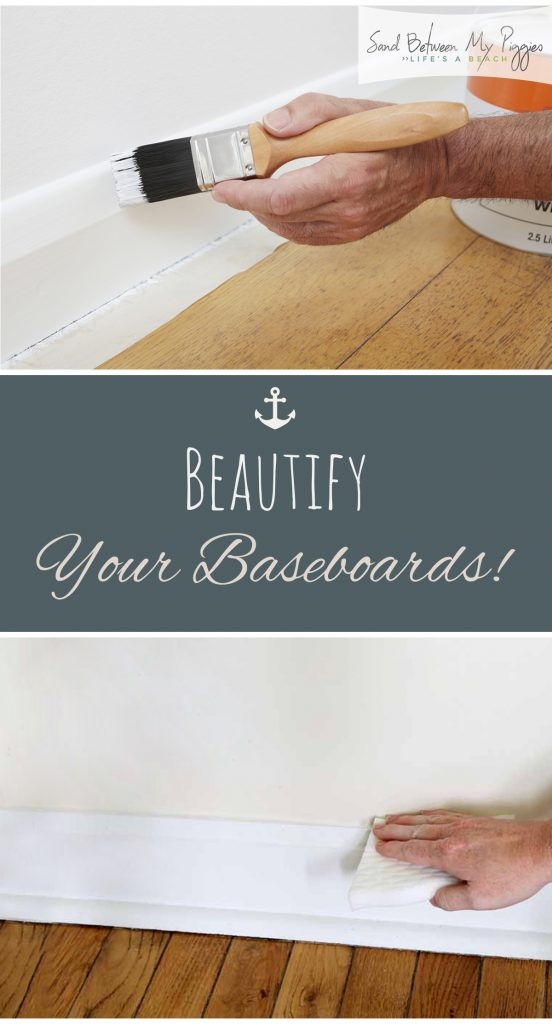 Beautify Your Baseboards!| How to Update Baseboards, Update Baseboards, DIY Baseboards, Home Improvement, Home Improvement Projects, DIY Home Improvement, DIY Home, DIY Home Projects, Popular Pin #HomeImprovements #DIYHomeImprovement #HomeImprovement #DIYHome