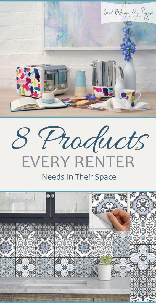 8 Products Every Renter Needs In Their Space| Renter Friendly, Renter Friendly Home Decor, Renter Friendly Interior Design, Interior Design Hacks, DIY Home, DIY Home Decor #RenterFriendlyDecor #DIYHomeDecor