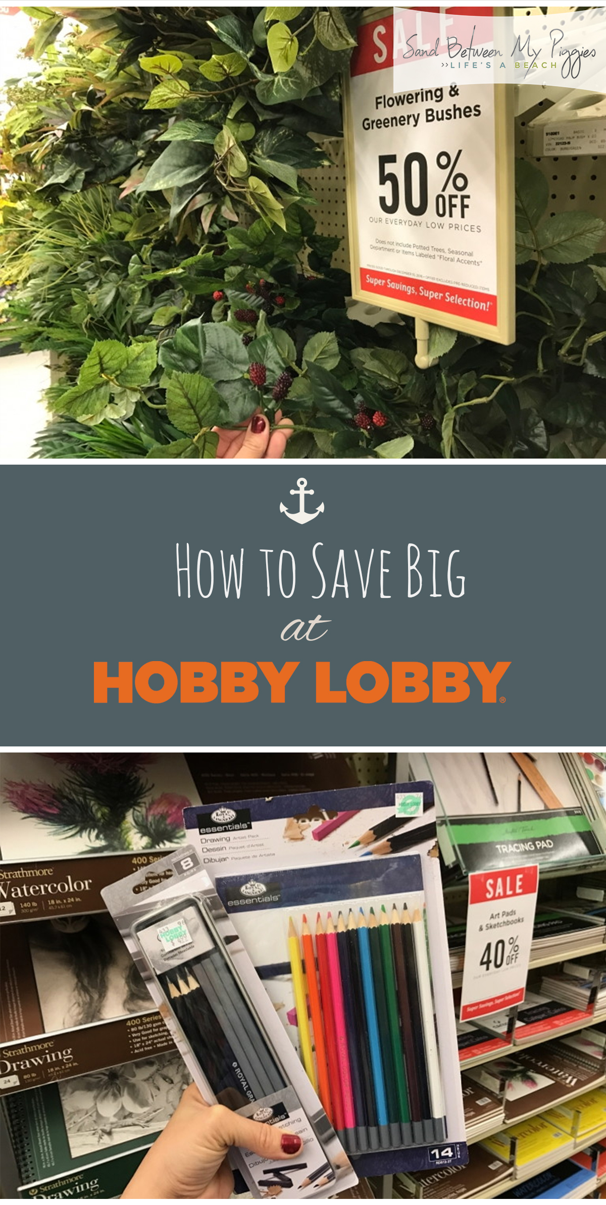 How to Save Big Bucks at Hobby Lobby| Money Saving Hacks, Money Saving TIps and Tricks, How to Save Money at Hobby Lobby, Hobby Lobby Money Saving Tips and Tricks #HobbyLobby #SaveMoney