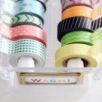 Create a Washi Tape Dispenser| Washi Tape, DIY Washi Tape, Washi Tape Organization, Washi Tape Storage, DIY Washi Tape Organization and Storage, Washi Tape Storage Dispensers, DIY Storage, Popular Pin #WashiTape #WashiTapeStorage #WashiTapeOrganization