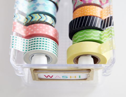 Create a Washi Tape Dispenser| Washi Tape, DIY Washi Tape, Washi Tape Organization, Washi Tape Storage, DIY Washi Tape Organization and Storage, Washi Tape Storage Dispensers, DIY Storage, Popular Pin #WashiTape #WashiTapeStorage #WashiTapeOrganization