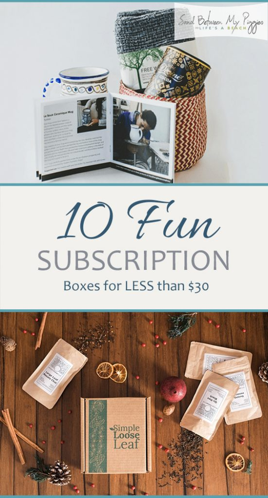 10 Fun Subscription Boxes for LESS than $30| Subscription Boxes, Subscription Boxes for Men, Subscription Boxes for Women, Subscription Boxes Cheap, Cheap Subscription Boxes #SubscriptionBoxes #SubscriptionBoxesforMen #SubscriptionBoxesforWomen #CheapSubscriptionBoxes