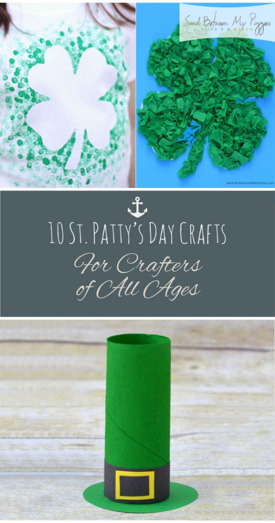 10 St Pattys Day Crafts For Crafters of All Ages| St Patricks Day, St Patricks day Crafts, DIY St Patricks Day, Holiday Home, Holiday Crafts, Easy Holiday Crafts, Fun Holiday Crafts, Holiday Crafts for Kids, Crafts for Kids, Popular Pin #Holiday #CraftsforKids #StPatricksDayDIYs