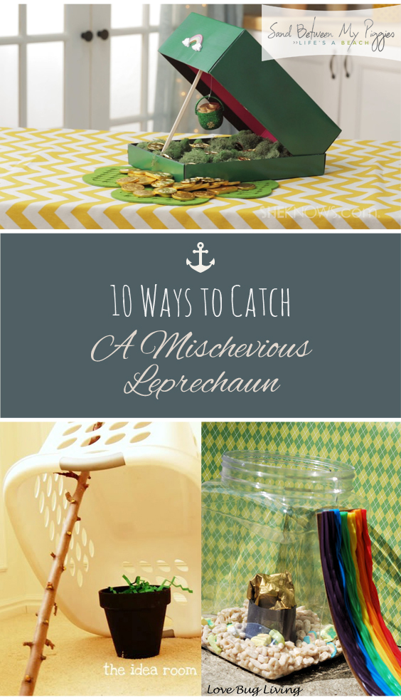 10 Ways to Catch A Mischevious Leprechaun| St Patricks Day, St Patricks Day Games, Holiday Games, Holiday Party Games, Leprechaun Traps, DIY Leprechaun Traps, Popular Pin #LeprechaunTraps #StPatricksDay #DIY