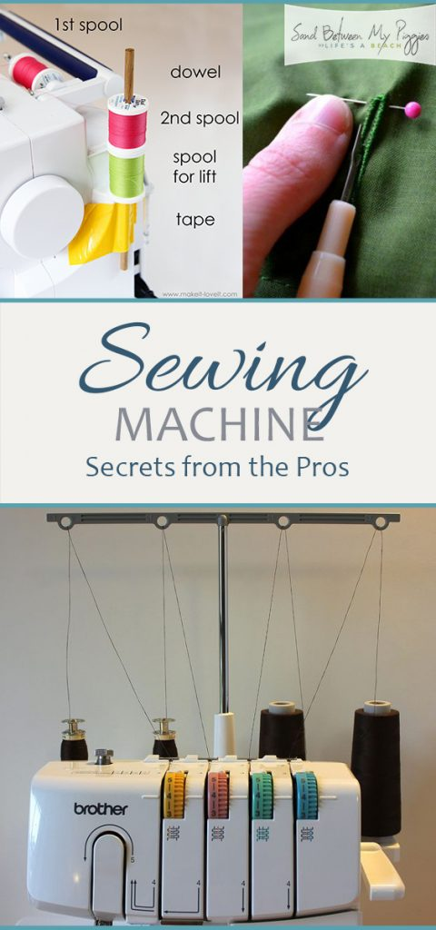 Sewing Machine Secrets from the Pros| Sewing Machine for Beginners, Sewing Machine Hacks, Sewing Machine Tips and Tricks, Sewing Machine Projects, Sewing Machine DIY, Crafts, DIY Crafts