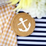 12 Super Easy Nautical Rope Crafts for the Home| DIY Ideas, Easy Crafts, DIY Crafts, Crafts for the Home, Nautical Rope Decor, Nautical Rope Crafts, DIY Crafts for the Home