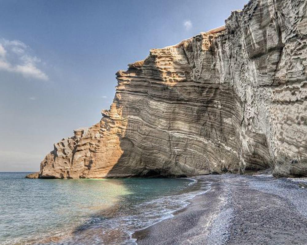 Swimming in Santorini  Travel, Travel Tips, Travel Hacks, Travel Destinations, Easy Travel Destinations