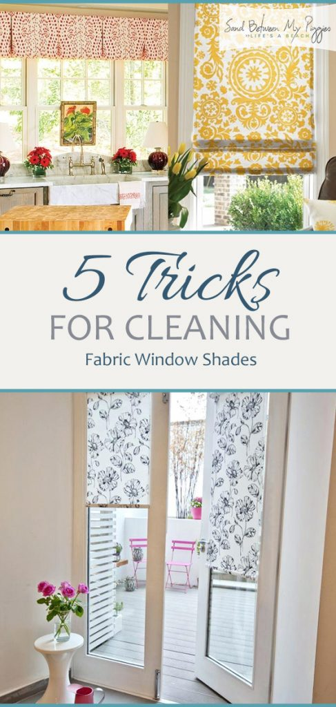 5 Tricks for Cleaning Fabric Window Shades| Cleaning, Cleaning Hacks, Cleaning Tips, Cleaning Tips and Tricks, Easy Cleaning Tips, Laundry, Laundry Tips and Tricks