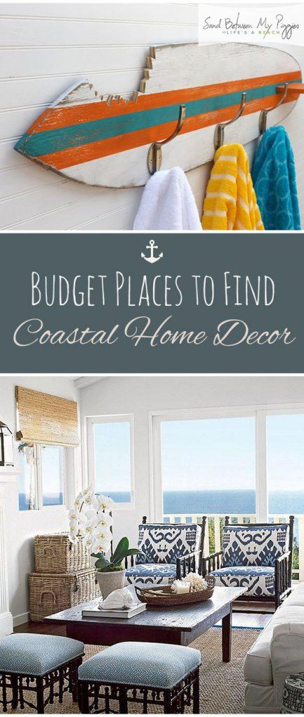 Delicieux Budget Places To Find Coastal Home Decor| Coastal Home Decor, Coastal Home  Design,