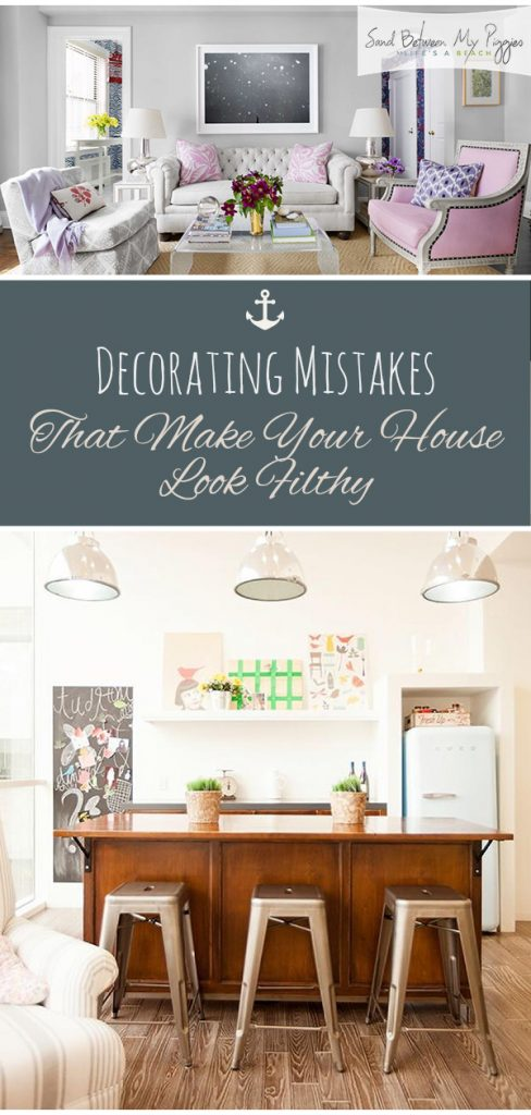 Decorating Mistakes That Make Your House Look Filthy | Decorating Mistakes, Decorating Mistakes to Avoid, Decorating Mistakes Messy, Decorating Mistakes and Lessons, Home Decor, Home Decor Ideas