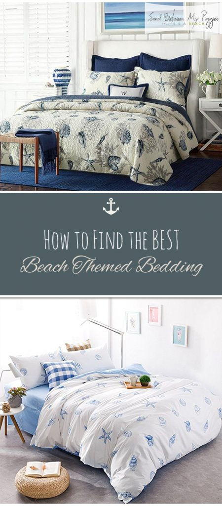 How to Find the BEST Beach Themed Bedding | Coastal Home Decor, Coastal Home Design, Coastal Home Plans, Coastal Home DIY