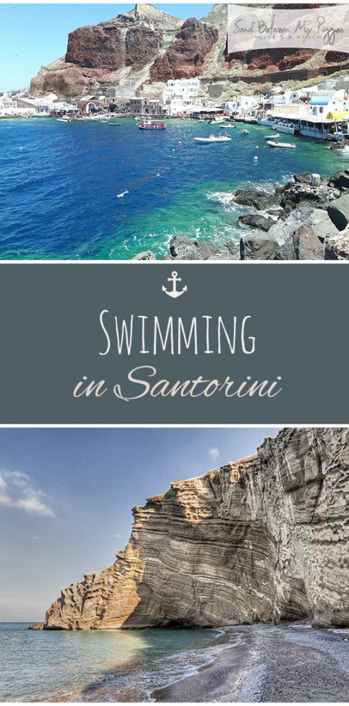 Swimming in Santorini| Travel, Travel Tips, Travel Hacks, Travel Destinations, Easy Travel Destinations