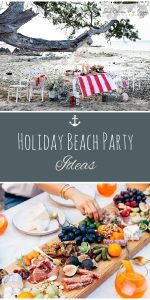 Holiday Beach Party | Holiday Beach Party Ideas | Christmas Beach Party | Beach Party | Holidays on the Beach | Christmas Beach Party Ideas | Holiday Beach Party Planning