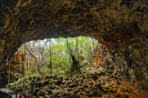 Undara lava tubes-wet tropics of Queensland