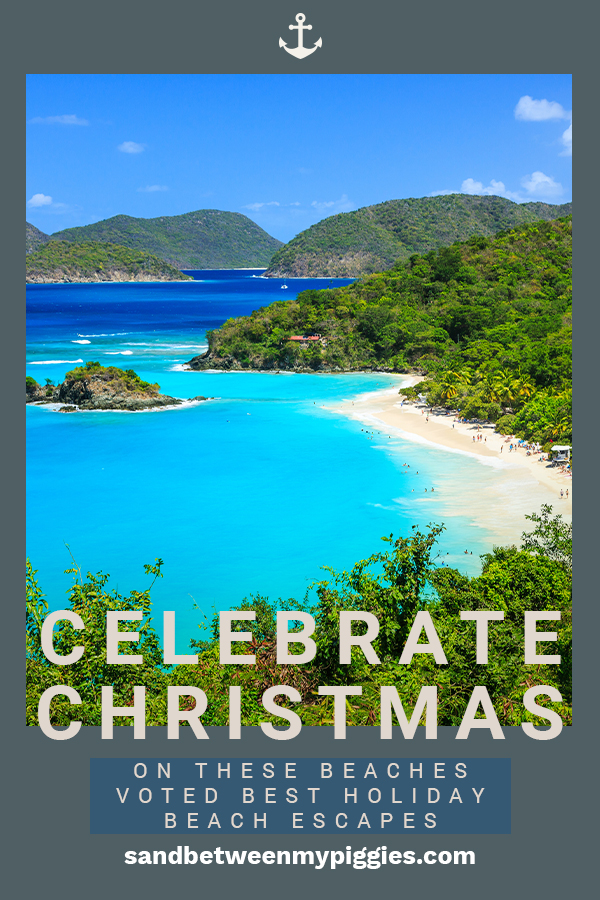 Needing a break from a white Christmas with snow? Why not trade the snow for white sandy beaches? Sun and sand are a great way to trump snow. Take a look at these beaches that have been voted the best holiday beach escapes. Ditch the coat and grab your suit (don't forget sunscreen) and enjoy Christmas with the sound of crashing waves. Even Santa might enjoy this idea. Ho Ho Ho. #holidaybeaches #christmasonthebeach #holidayescapes