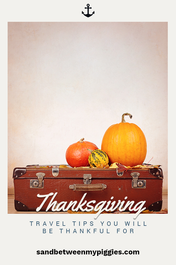 Thanksgiving means gathering with loves ones, but it can also mean travel. Travel during Thanksgiving is busy and hectic. Don't get caught it the stress of it all. With these tips for driving, flying or traveling with kids, you will be set to enjoy the journey and arrived relaxed and ready to make memories with those you love.