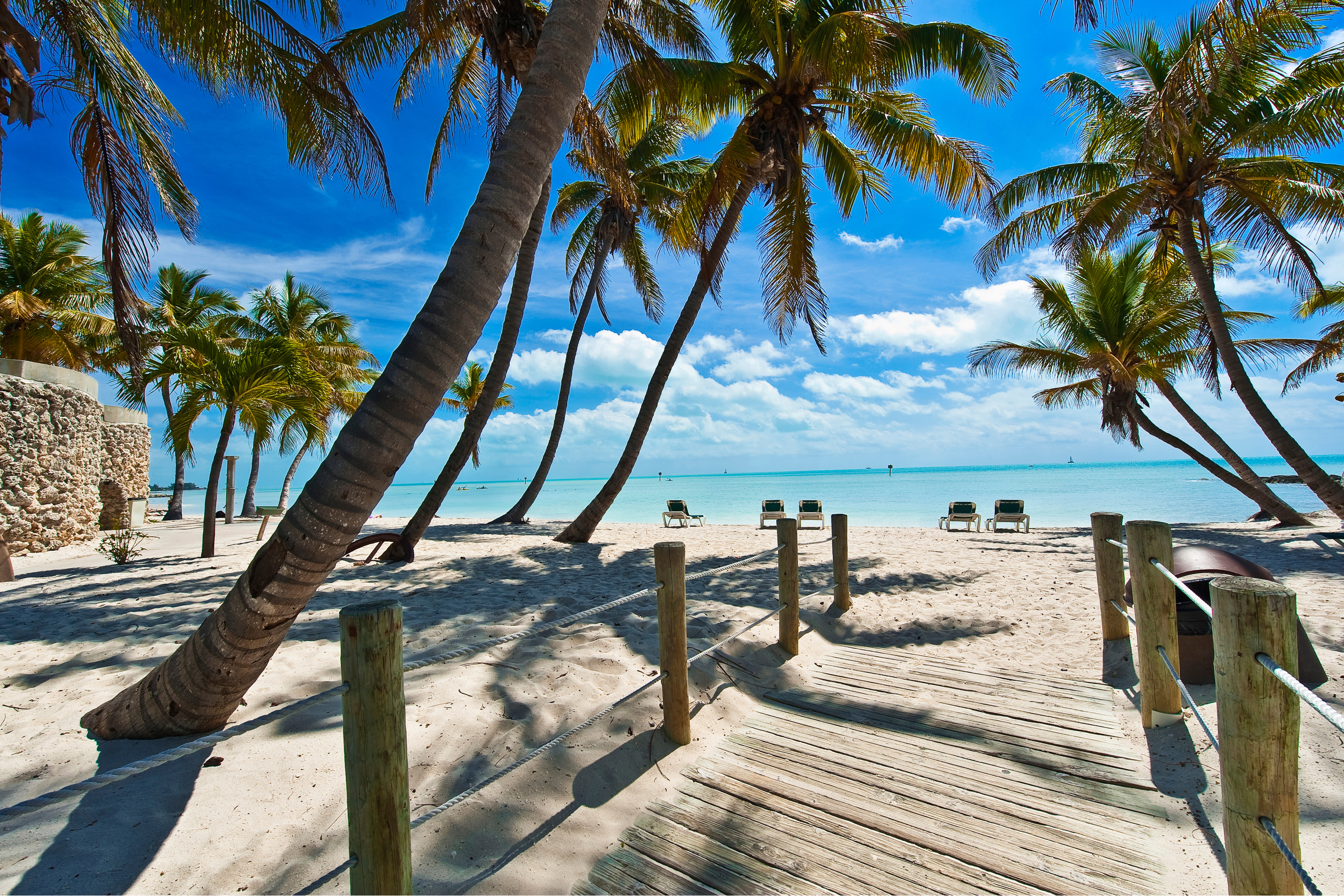 You need to celebrate Christmas on these beaches. They were voted the best for the holiday season and it's the perfect time to soak up a little vitamin D.