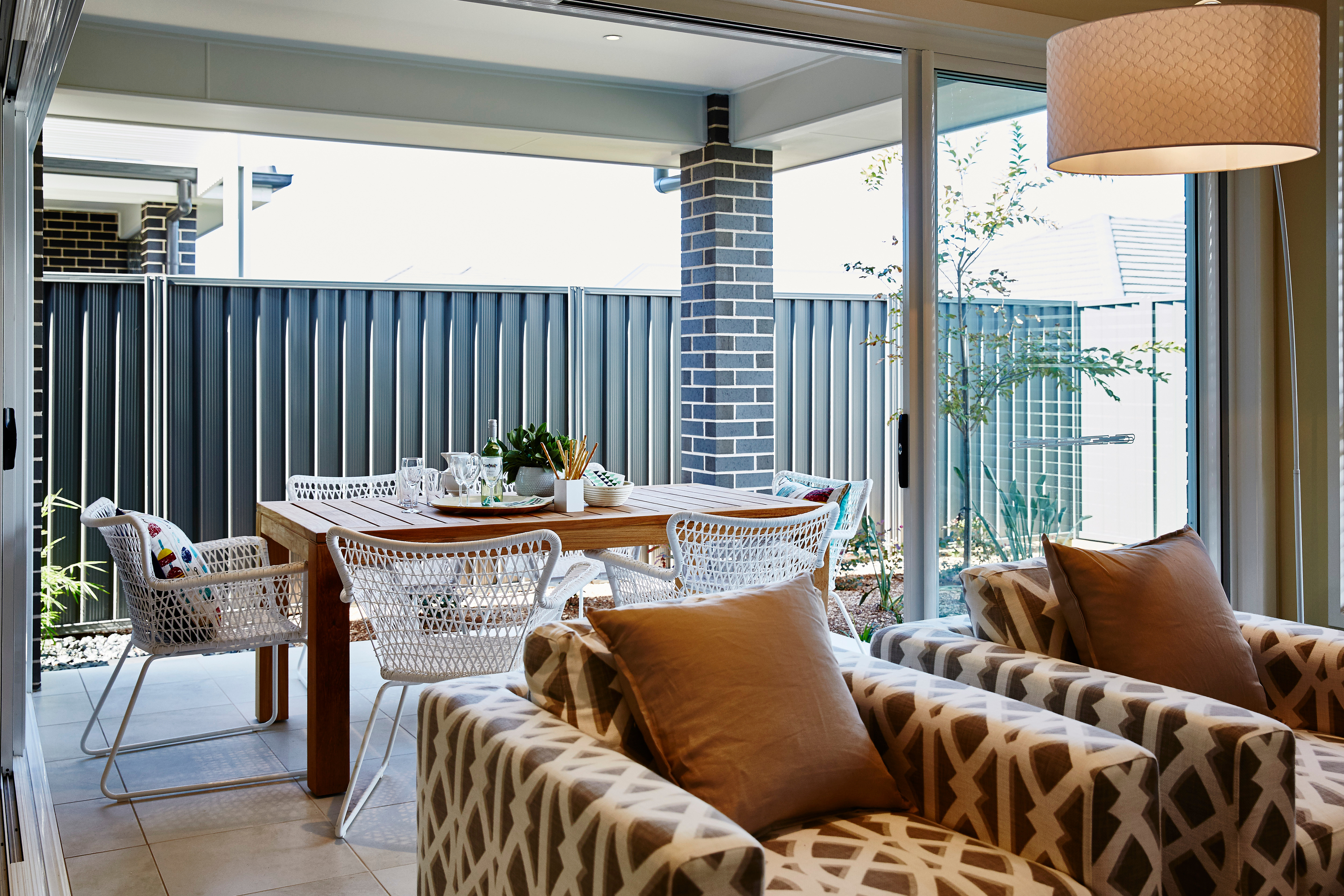 If you watch HGTV, then you've probably seen Christina on the Coast. Check out these Christina on the Coast designs to incorporate in your home. Indoor/outdoor living areas are so popular.