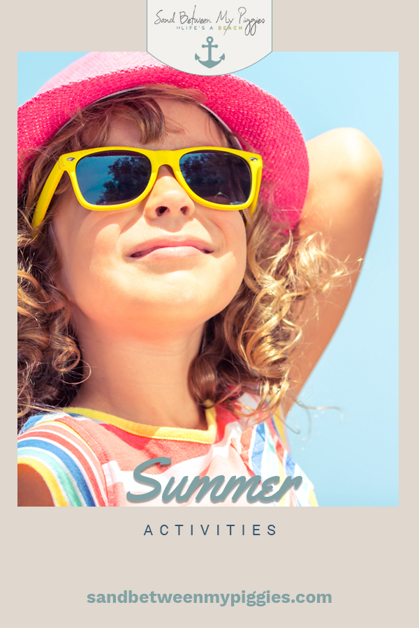 Bored at home with nothing to do? Never again! Check out this list of amazing summer activities that you can do in the comfort of your own home. #sandbetweenmypiggiesblog #summerfun #diy