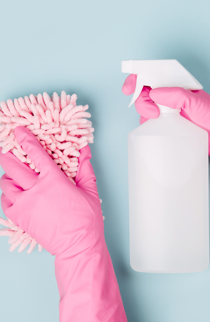 Spring is here, do you know what that means? It's time to clean your house and make it positively SPOTLESS. These super easy housecleaning tips will make it easy to whip your home into spic and span shape. You will love the way your home looks after!