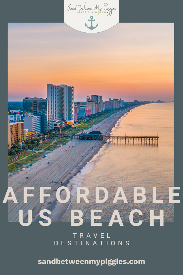 Head out to the East Coast this summer and make sure that you hit all of the incredibly affordable (and beautiful) beach destinations on this list. All of the locations in this article are uniquely special, so which ones will you choose? #travel #destinations #sandbetweenmypiggiesblog
