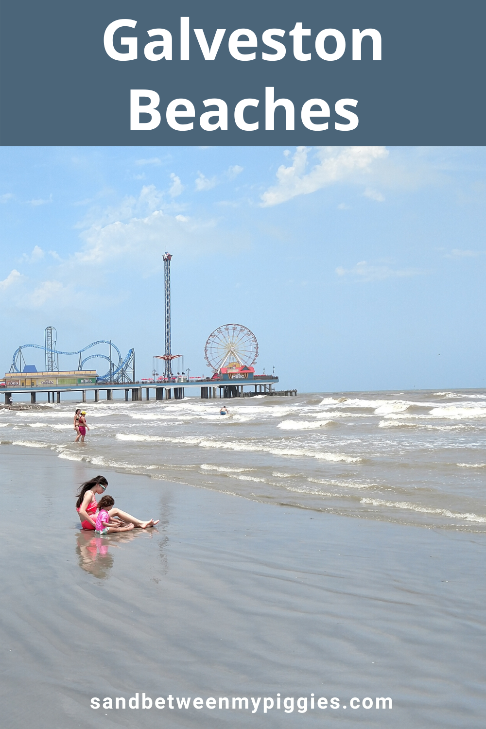 Are you planning your next vacation? Why not head down to the Galveston beaches? Located an hour outside of Houston, go explore the coast of Texas! #galvestonbeaches #bestgalvestonbeaches #galvestonbeachesideas #galvestonbeachesthingstodo #galvestonbeachesvacation