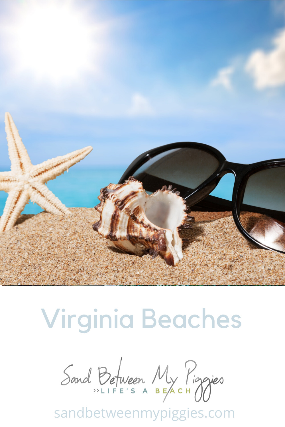 Are you looking for surf and sun, tree-covered cliffs, lovely shops, fishing, or observing wildlife? Virginia beaches have it all! Find out which ones best fit your fancy! (I can promise you there will be at least one!) #sandbetweenmypiggiesblog #virginiabeaches