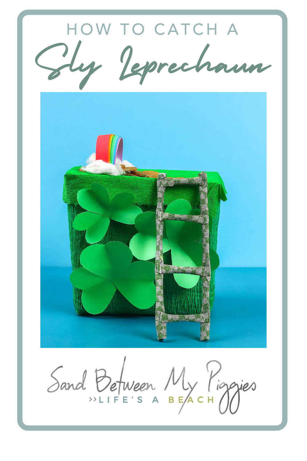 Sandbetweenmypiggies.com is all about making life simpler and more fun. Kids love the tradition of leprechauns at St. Patrick's Day. Shake things up with these fun and exciting ways to incorporate leprechaun hunting into your St. Patty's day celebration!