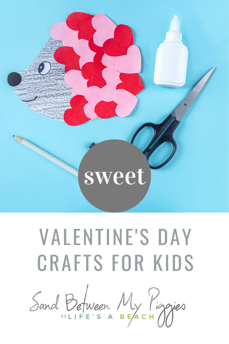 Sandbetweenmypiggies.com does all the hard work so you can sit back and relax. Don't worry about keeping your kids entertained this Valentine's Day; try out these fun and cute crafts that you and your kids will love making together!