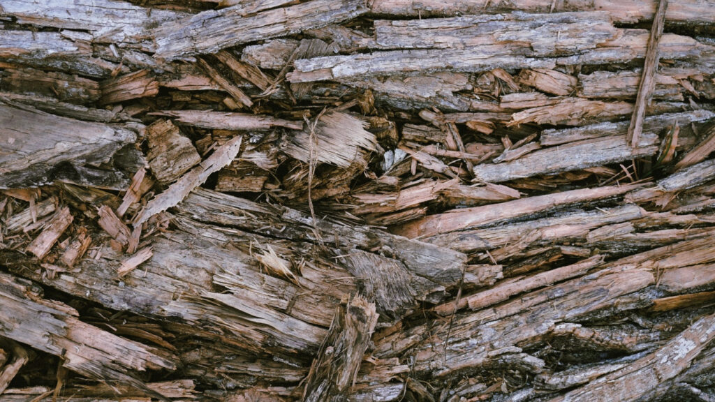 Driftwood weathered wood finish as a design touch