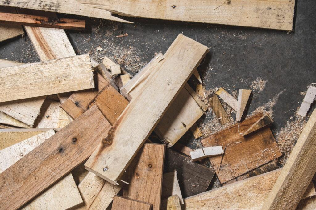 Driftwood weathered wood finish