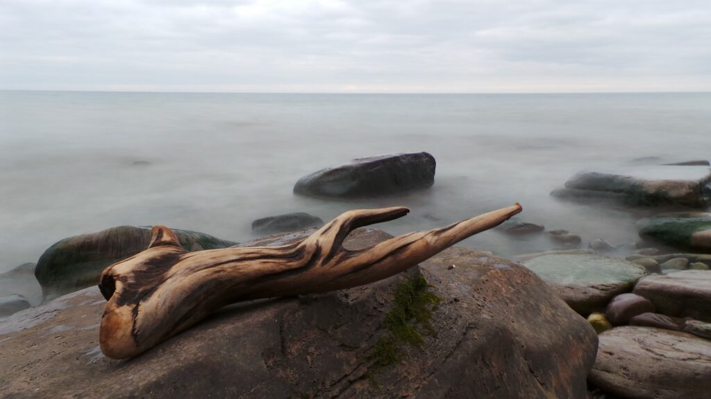 How to get a driftwood weathered finish