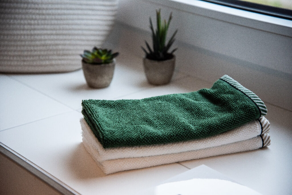 Recycling old towels